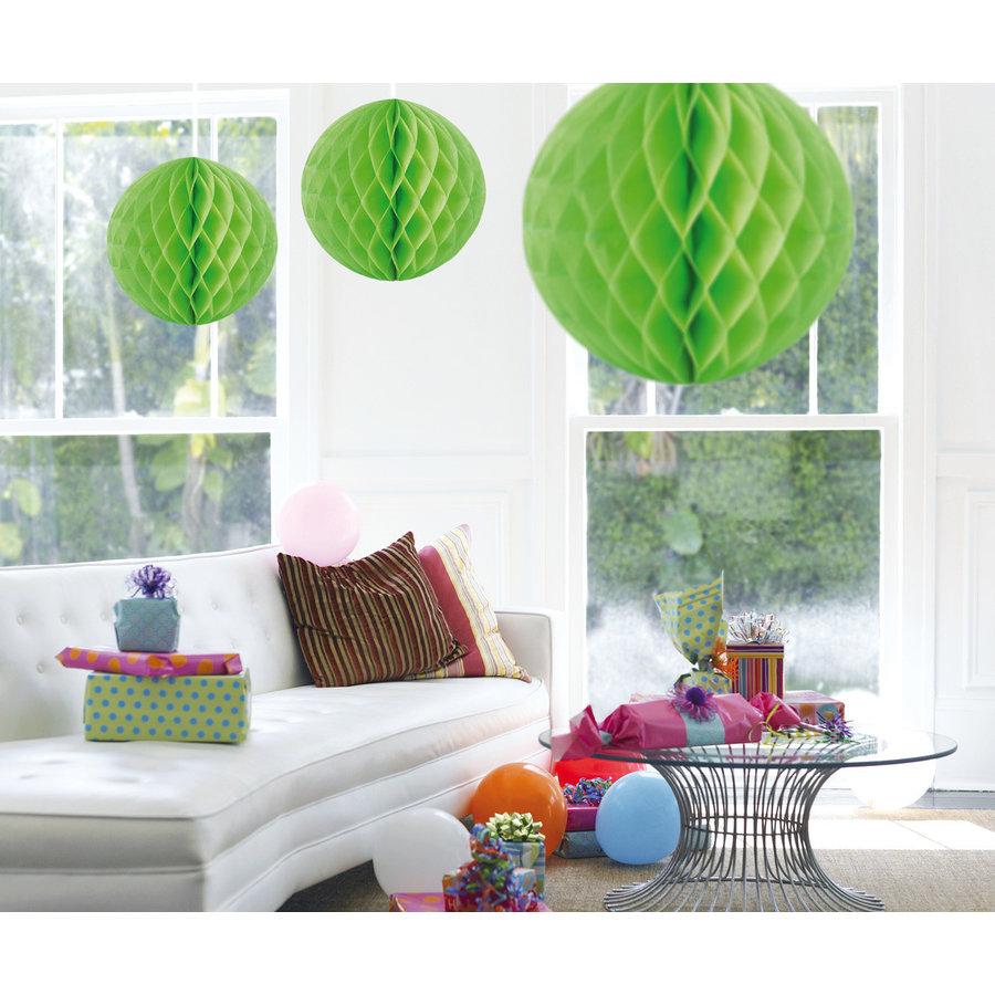 Honeycomb Maxi Lime Groen - 50cm-1