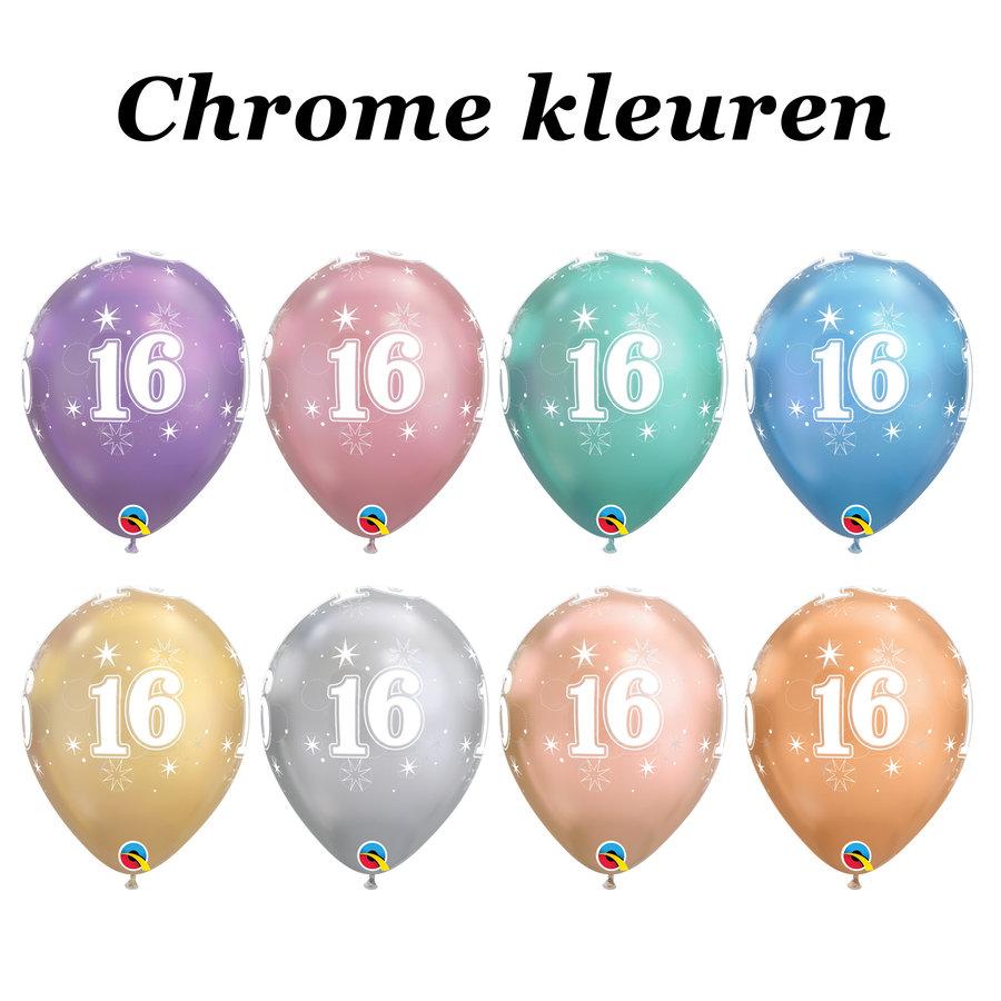 Helium Ballon 16 jaar-6