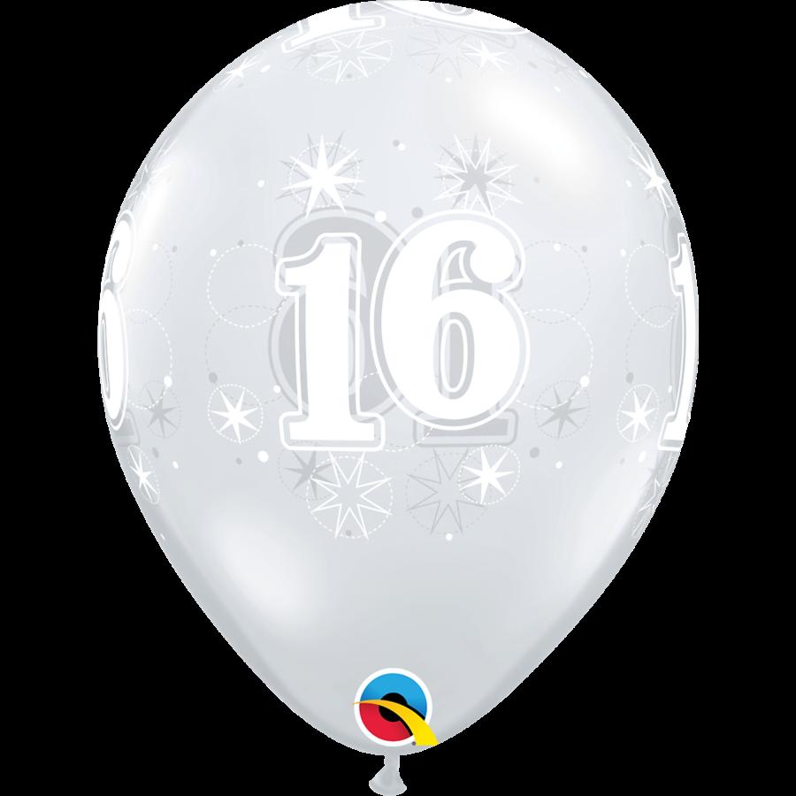 Helium Ballon 16 jaar-7