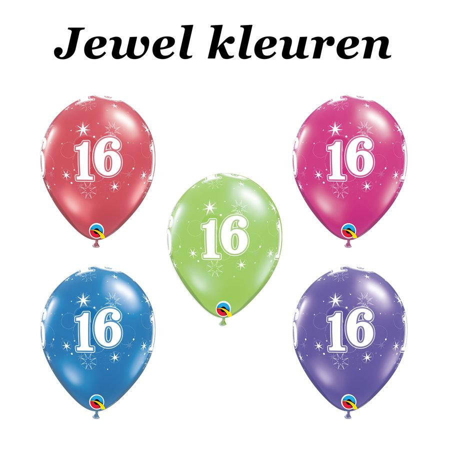 Helium Ballon 16 jaar-4