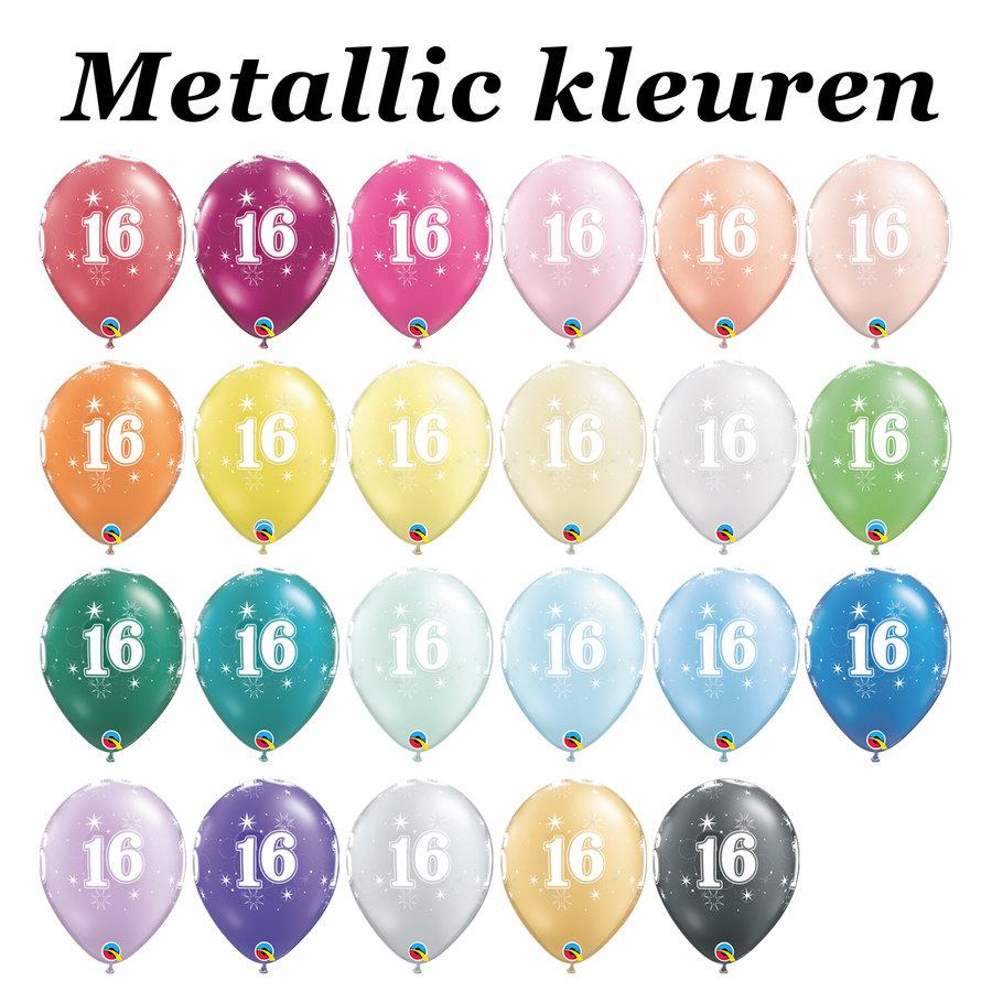 Helium Ballon 16 jaar-5