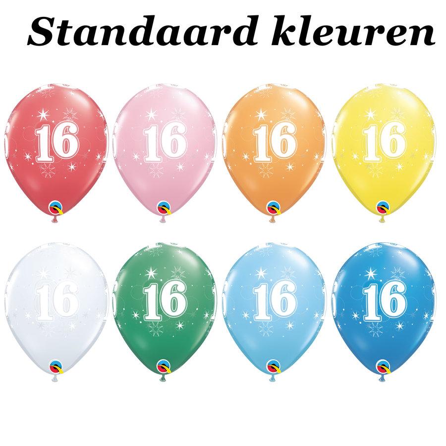 Helium Ballon 16 jaar-2