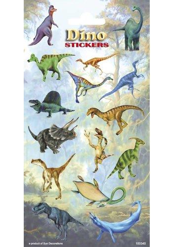 Dino Stickervel - 2 stuks