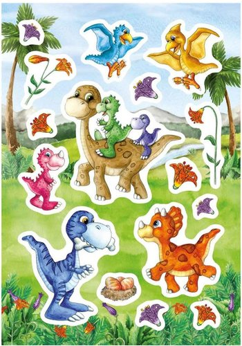 Stickervel Dino Baby's