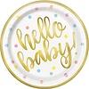 Bordjes Hello Baby - 23cm - 8 st