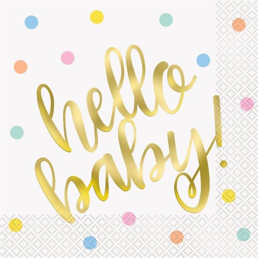 Servetten Hello Baby-1