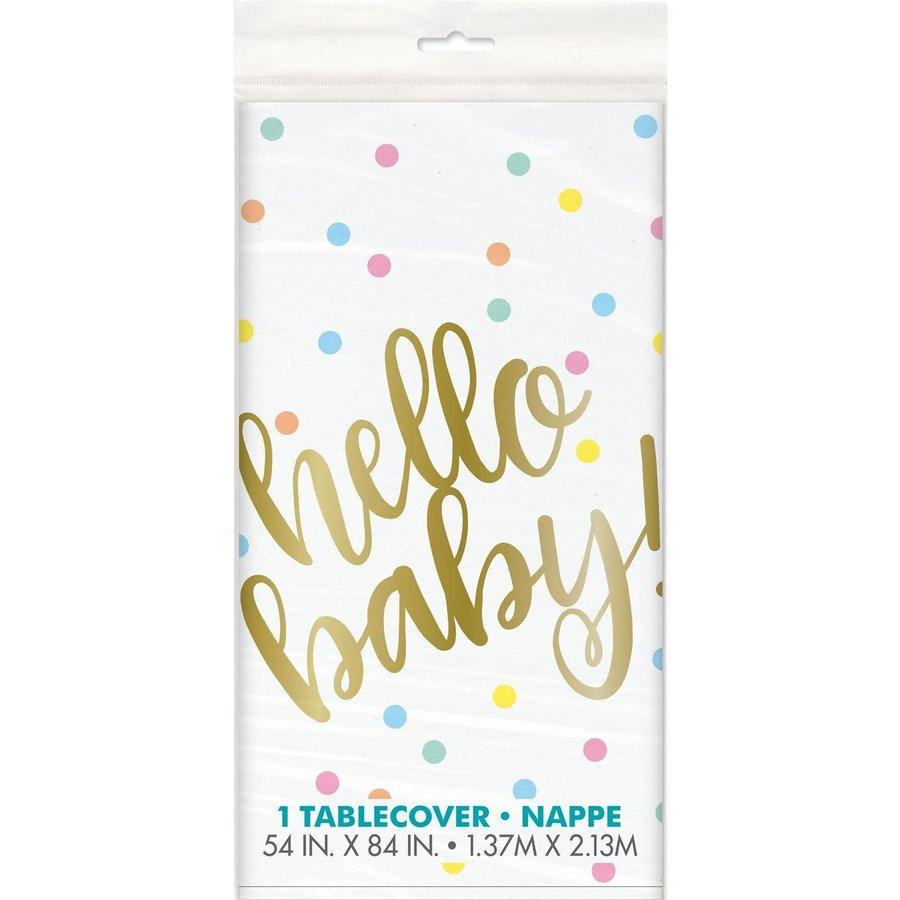 Tafelkleed Hello Baby-1