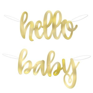 Letter Slinger Hello Baby