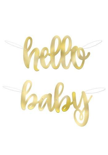 Letter Slinger Hello Baby - 1 mtr