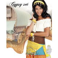 thumb-Set Gypsy - hoofdband, armbanden & ceintuur-1