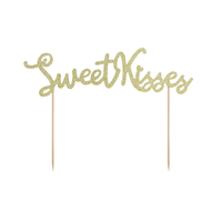 thumb-Taart topper Sweet Love - Sweet Kisses-2
