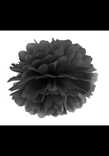 PomPom Zwart - 35cm