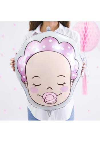Folieballon Baby Girl - 40x45cm