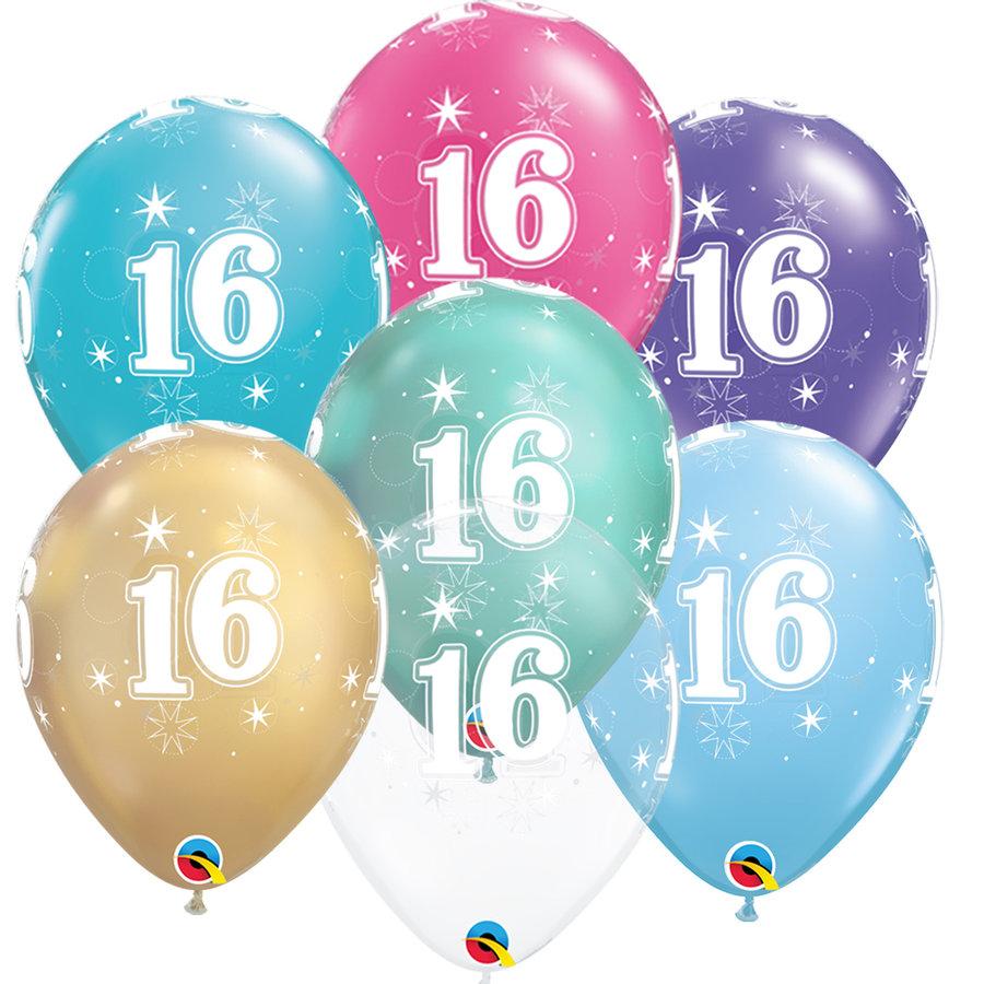 Helium Ballon 16 jaar-1