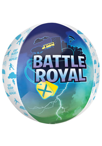 Folieballon Orbz Fortnite Battle Royal - 38x40cm