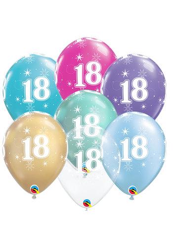 Helium Ballon 18 jaar (28cm)