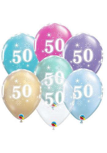 Helium Ballon 50 jaar (28cm)