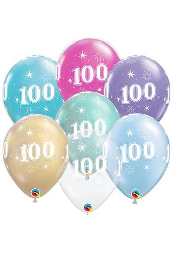 Helium Ballon 100 jaar (28cm)