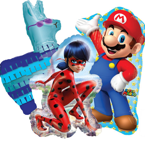 TV & Game personage ballonnen