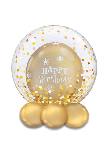 Deco Bubble Dots Gold