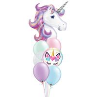 Beautiful Unicorn Balloon Set