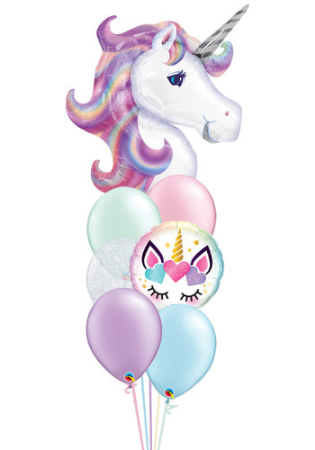 Beautiful Unicorn Balloon Set