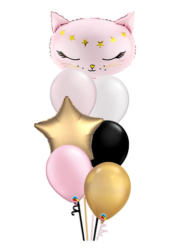 Pretty Pussycat Balloon Set