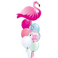 Pretty Flamingo Balloon Set