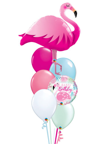 Pretty Flamingo Balloon Set