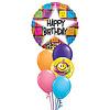 Singing Smiley Balloon Set