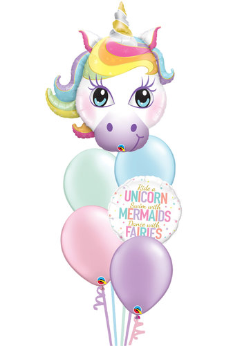 Unicorn Fairytale Balloon Set