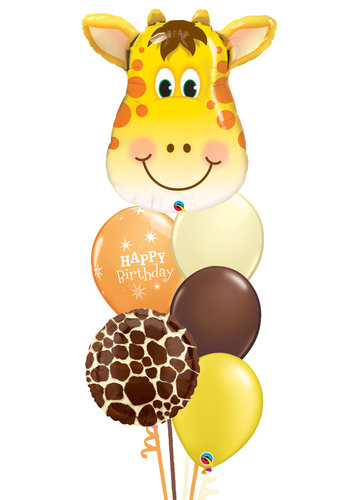 Jolly Giraffe Balloon Set