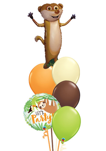 Meerkat Balloon Set