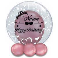 thumb-Bedrukte Ballon - Happy Birthday Girl-4