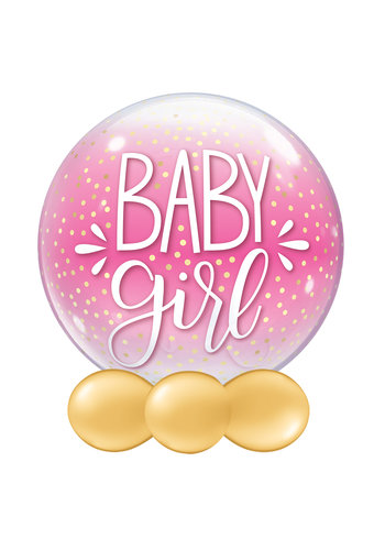 Bubble Baby Girl Dots