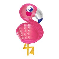 Folieballon Funny Flamingo