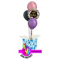 Happy Birthday Hibiscus Set