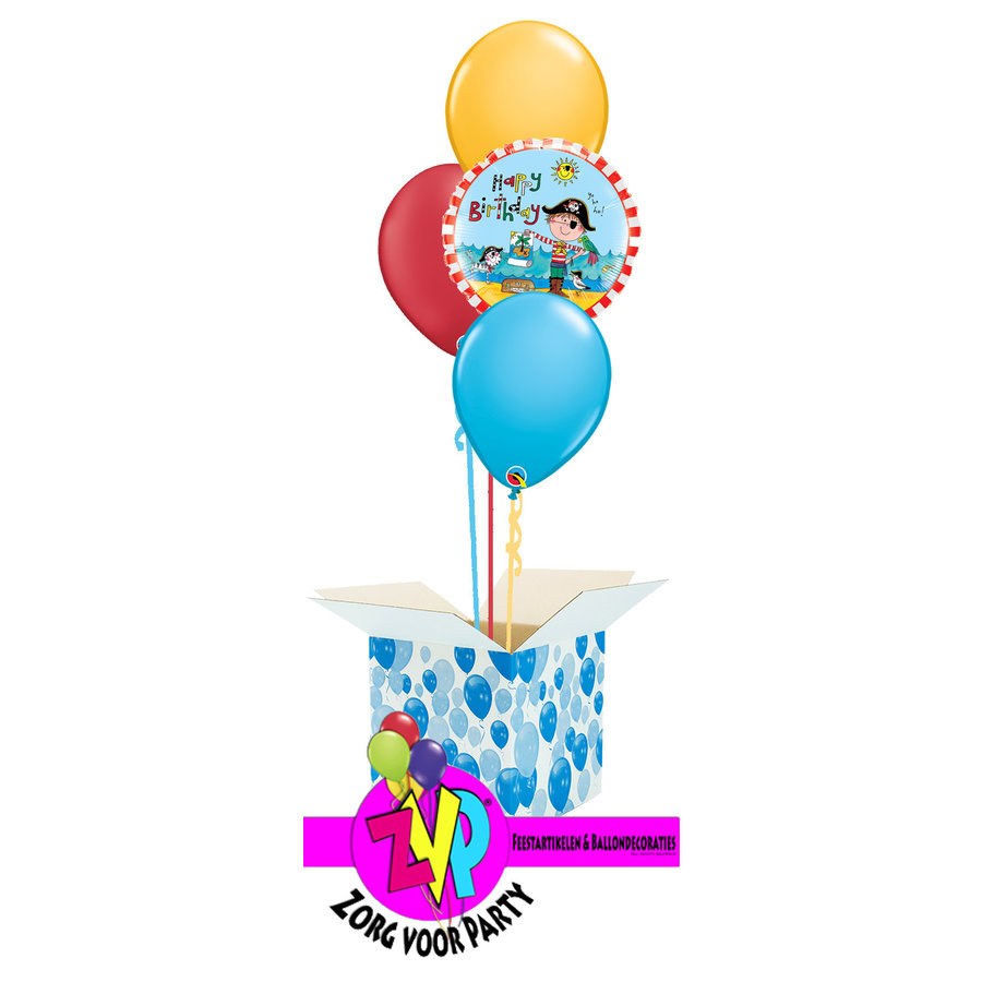 Happy Birthday Pirate Set-1
