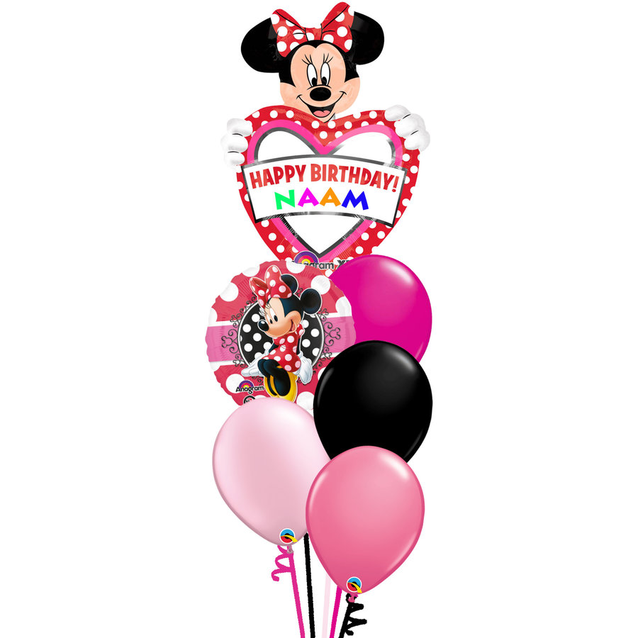 Minnie Mouse Set Met Naam-1