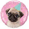 Qualatex Folieballon Party Pug