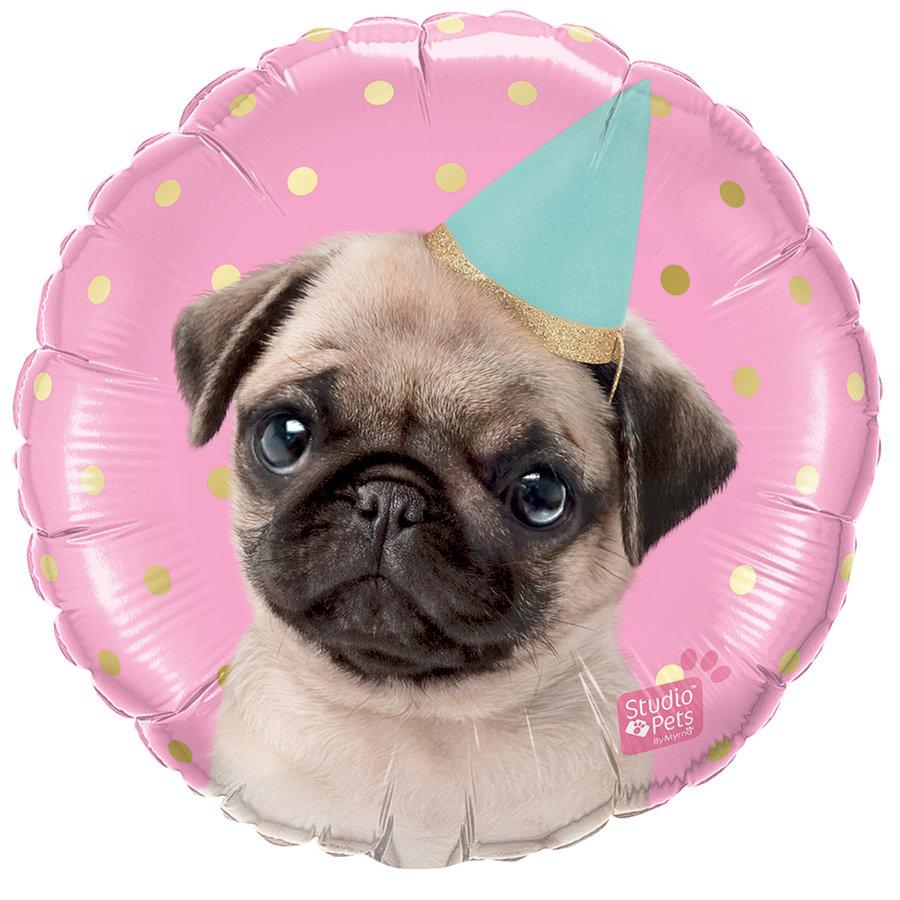 Folieballon Party Pug-1