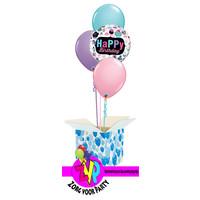 Happy Birthday Cupcakes set