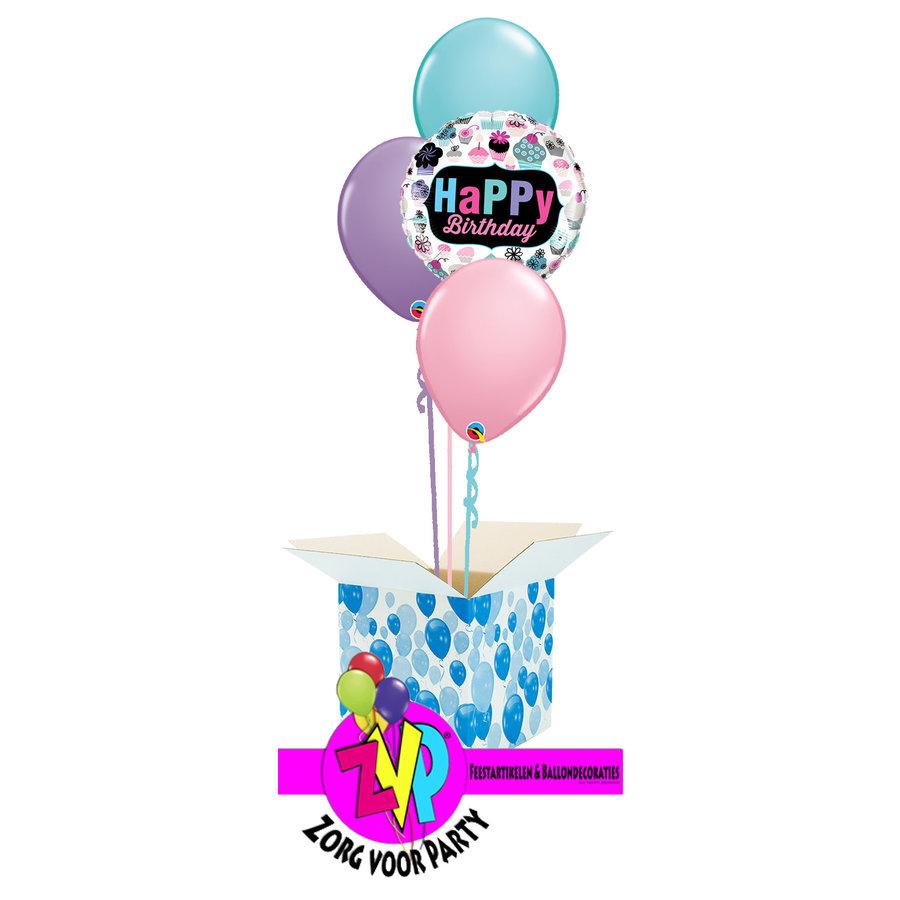 Happy Birthday Cupcakes set-1