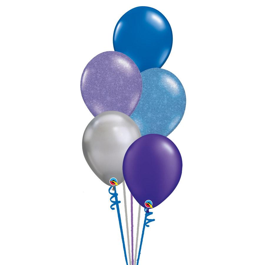 Staander Galaxy - 5 Heliumballonnen-1