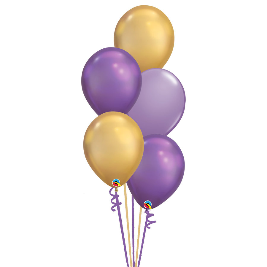 Staander Aladdin - 5 Heliumballonnen-1