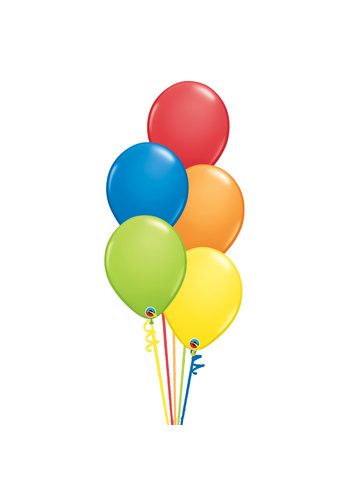 Staander Primair - 5 Heliumballonnen