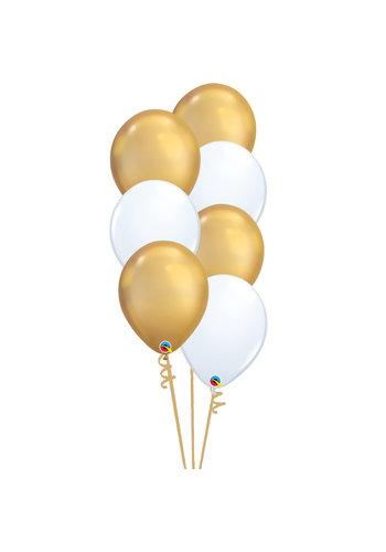 Staander Chique - 7 Heliumballonnen