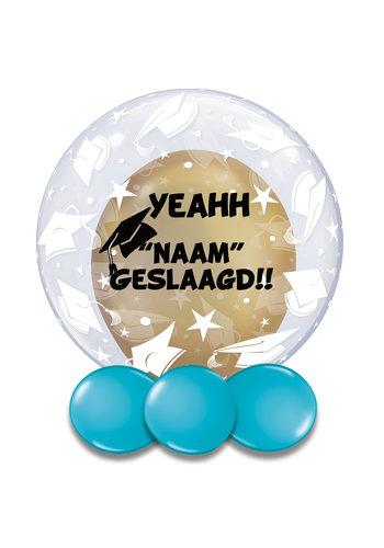 Bedrukte Ballon - Geslaagd