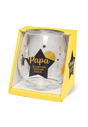 Glas Proost - Papa je hebt een speciaal plekje