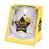 Glas Proost - Dad you're always in my heart